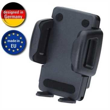 HR Kfz Halter Mini Phone Gripper 6 - für Gerätebreite 42 - 78 mm - schwarz (Made in Germany)