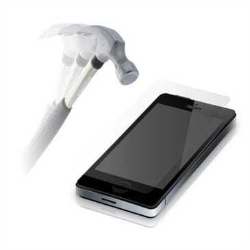 Display Schutzglas Glas Folie f. Samsung Galaxy Note 10 Lite, Härtegrad 9H, kleiner als das Display