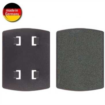 HR Adapterplatte - Adapter 4 Krallen (vorstehend) - selbstklebend mit Selbstklebefolie