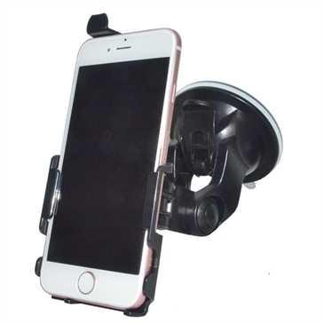 Haicom Kfz Halter Saugfuß für Apple iPhone 8, iPhone 7 - mit 360° Rotation - Schwarz