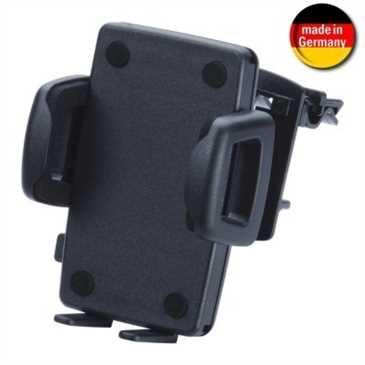 HR Kfz Halter Lüftungslamellen - Schnellverschluss - für Smartphones von 56 - 85 mm Breite