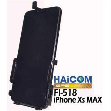 Haicom Halterschale für Apple iPhone XS Max - Hi-518 - Schwarz