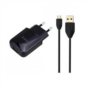 HTC Netzteil TC P900 + HTC Micro-USB Daten-/ Ladekabel DC M600 Set (Bulk, ohne Verpackung)