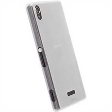 Krusell FrostCover 89945 für Sony Xperia Z2 - Weiß Transparent