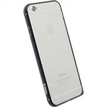 Krusell Sala Alu Bumper 90034 für Apple iPhone 7 Plus, 6 Plus, 6S Plus - schwarz