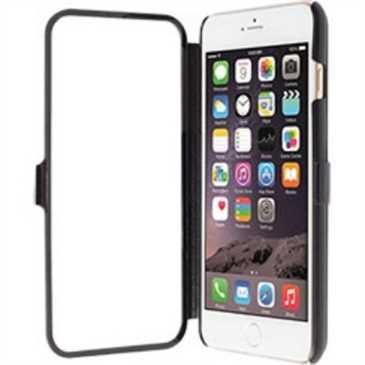 Krusell Tasche Donsö Wallet Viewcase 76032 für Apple iPhone 6 Plus, 6S Plus - Schwarz