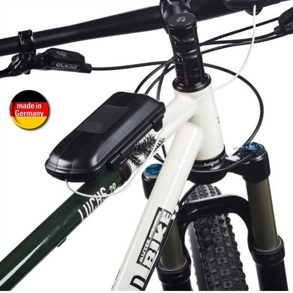 hr fahrrad motorradhalter biker battery pack box passend. Black Bedroom Furniture Sets. Home Design Ideas