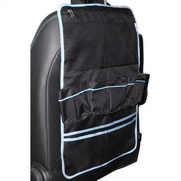 XiRRiX Autositz Schutz - Utensilo - Rücksitz Organzier für die Rückenlehne des Autositzes